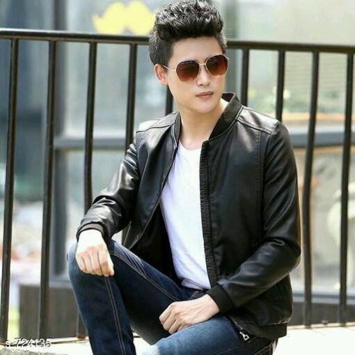 Men's Stylish Nappa Leather Jackets