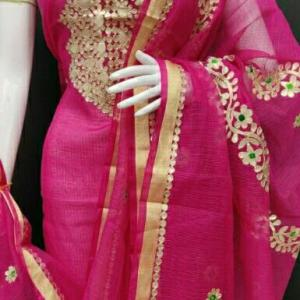 Gorgeous Kota Doria Cotton Dress Materials