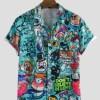 Casual Trendy Printed Shirt For Men