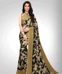 Stylish Aagam Georgette Women's Sarees Vol 2