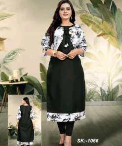Abhisarika Alluring Kurtis With Attached Jacket