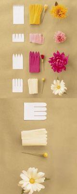 फूल बनाने के आसान तरीके-10