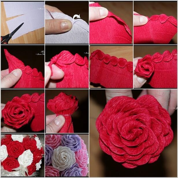 फूल बनाने के आसान तरीके-7