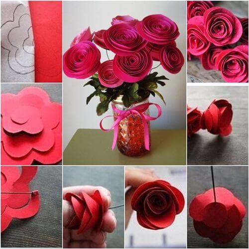 फूल बनाने के आसान तरीके-8