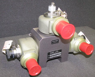 Aircraft Fire Protection Diverter Valve from AAE Ltd