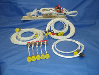 Electrical Harnesses and pre-wired Interface Tray Assembly