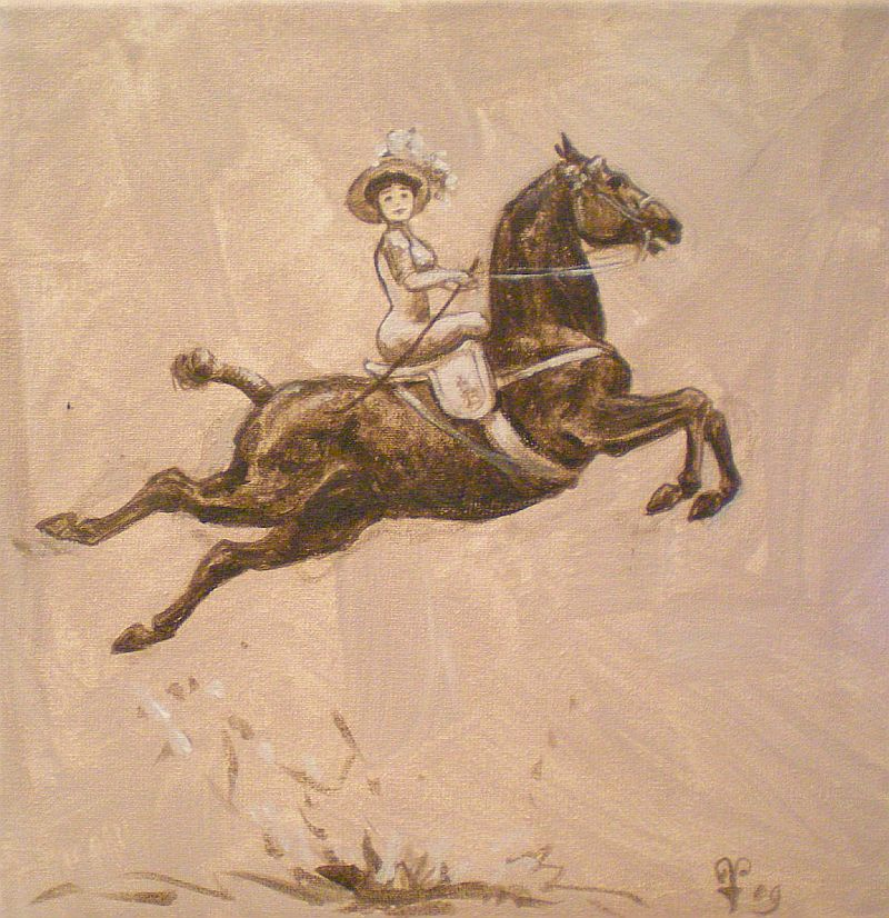 29 October sidesaddle riding