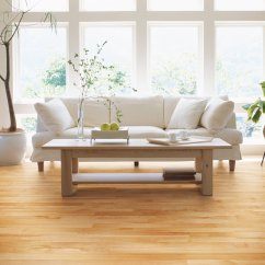 Living Room Design With Hardwood Floors White Tile Floor Yellow Birch Flooring Natural Red Ambiance Lauzon