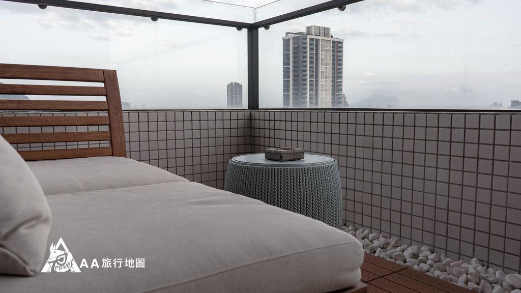 你會一直想要住在這小陽台看出去