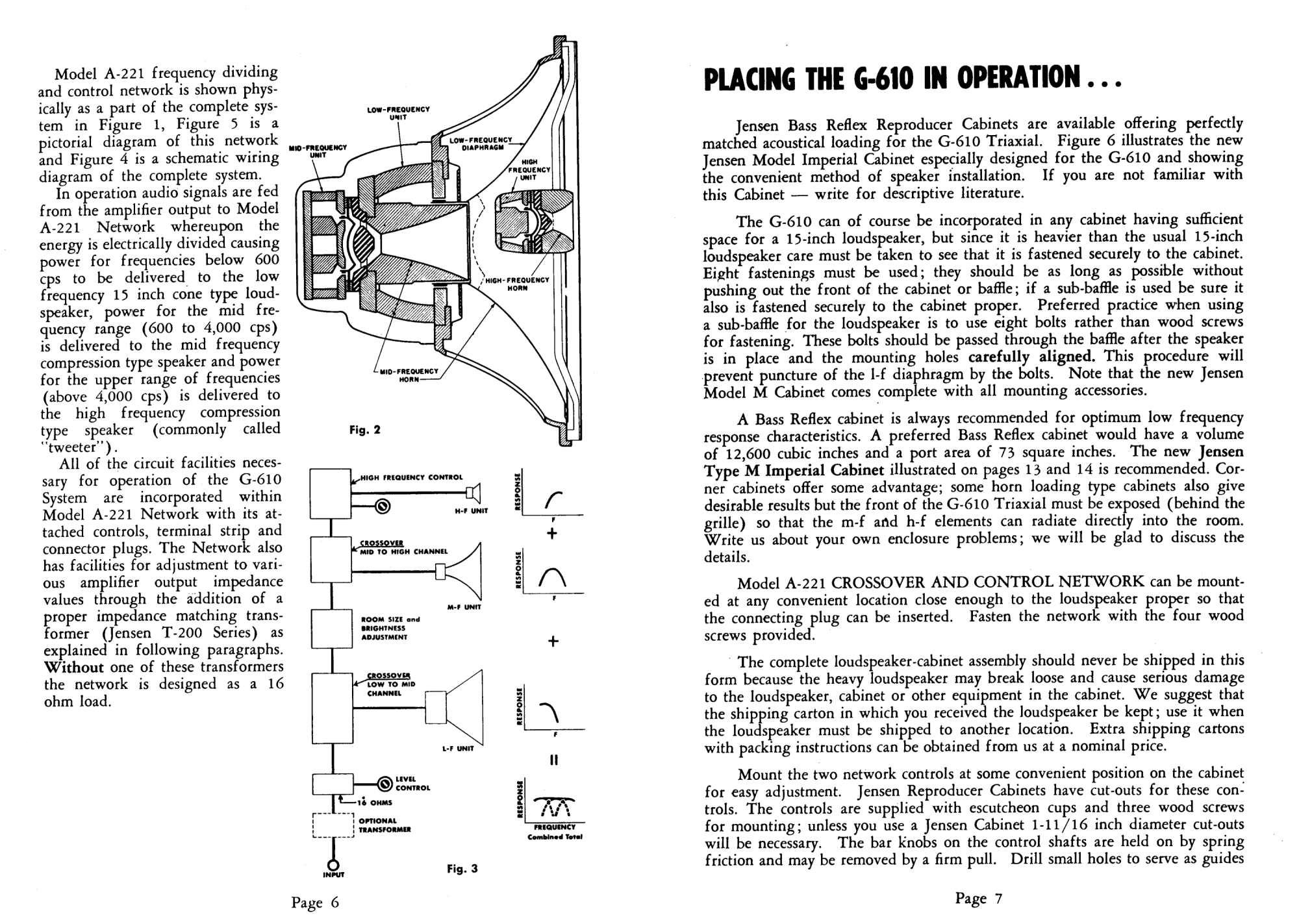 Jensen Instruction Book No 133