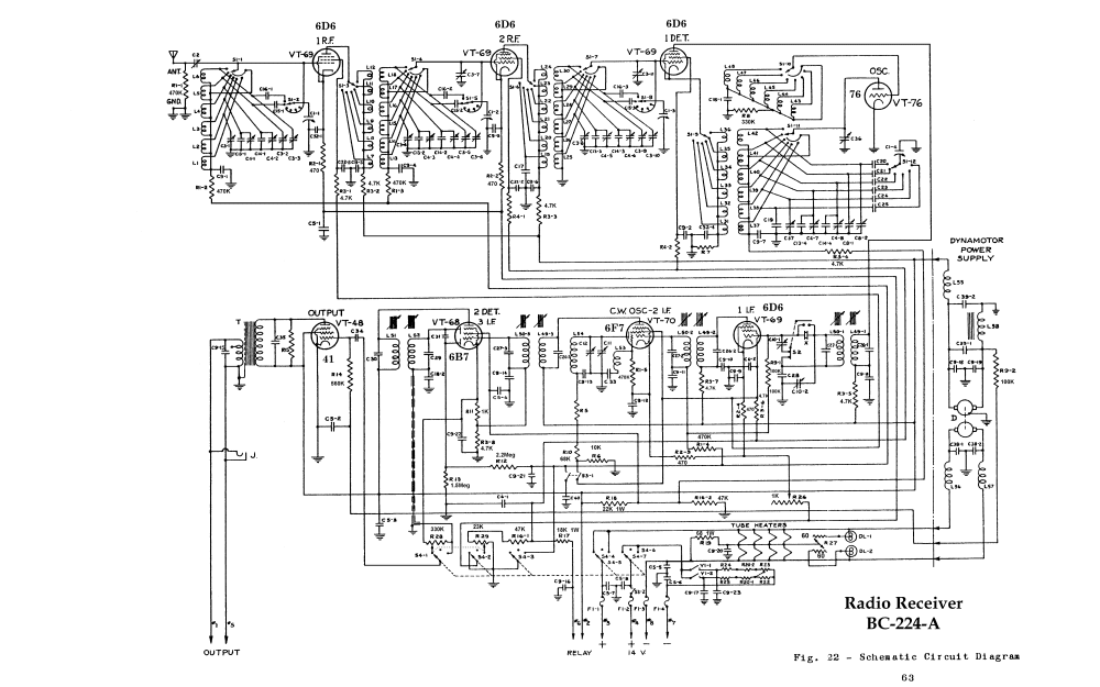 medium resolution of bc 224 a schematic and wiring diagrams
