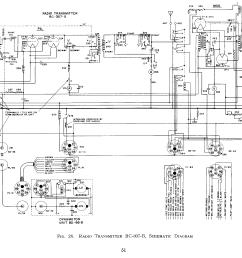 bc 307 transmitter schematic [ 3500 x 2099 Pixel ]
