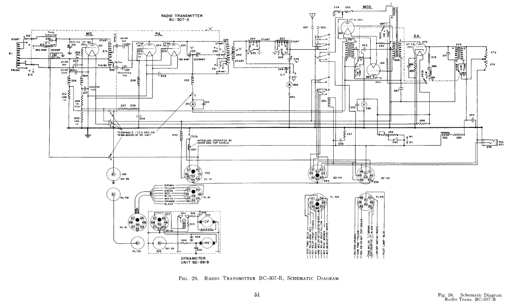 medium resolution of bc 307 transmitter schematic