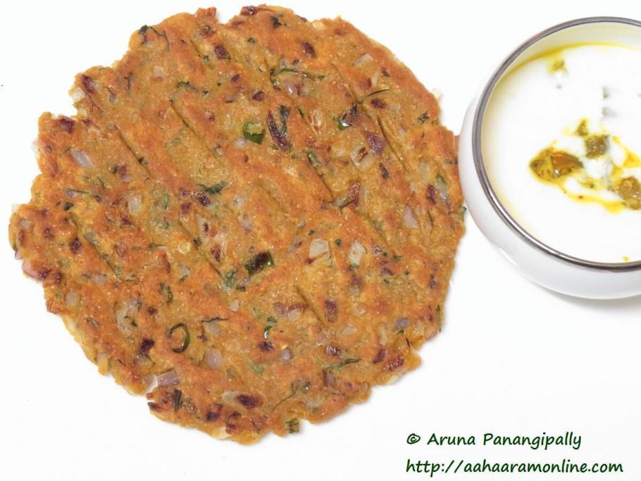 Thalipeeth - Maharashtrian Speciality