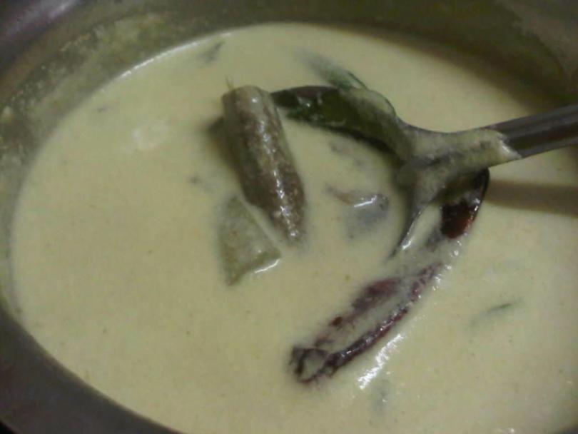 Majjiga Pulusu/Moz Khozumbu/Kadhi/Andhra Buttermilk Stew
