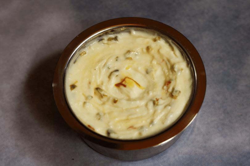 Creamy Kesar Pista Shrikhand