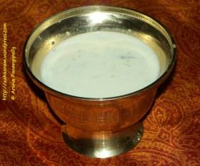 Pal Payasam or Kheer