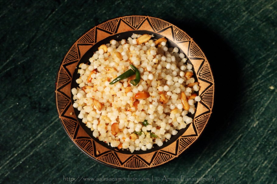 The perfect, non-sticky Sabudana Khichdi