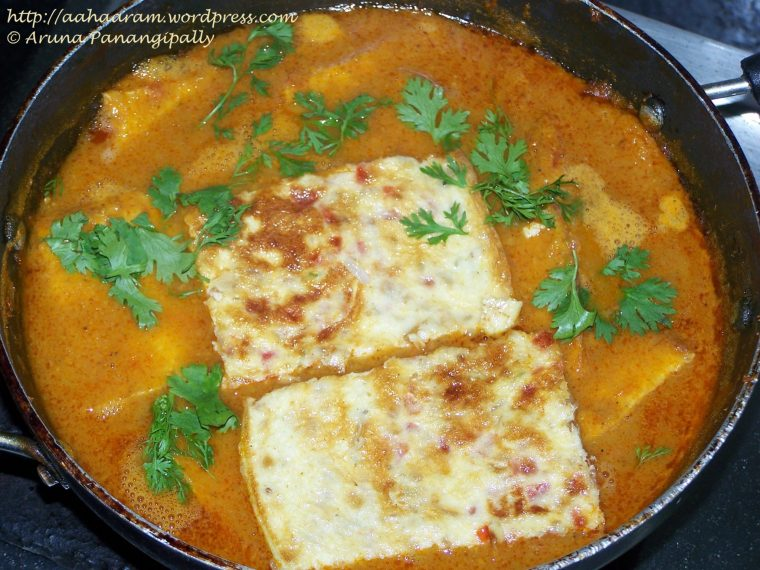 Omeletter Jhol or Bengali Omelette Curry