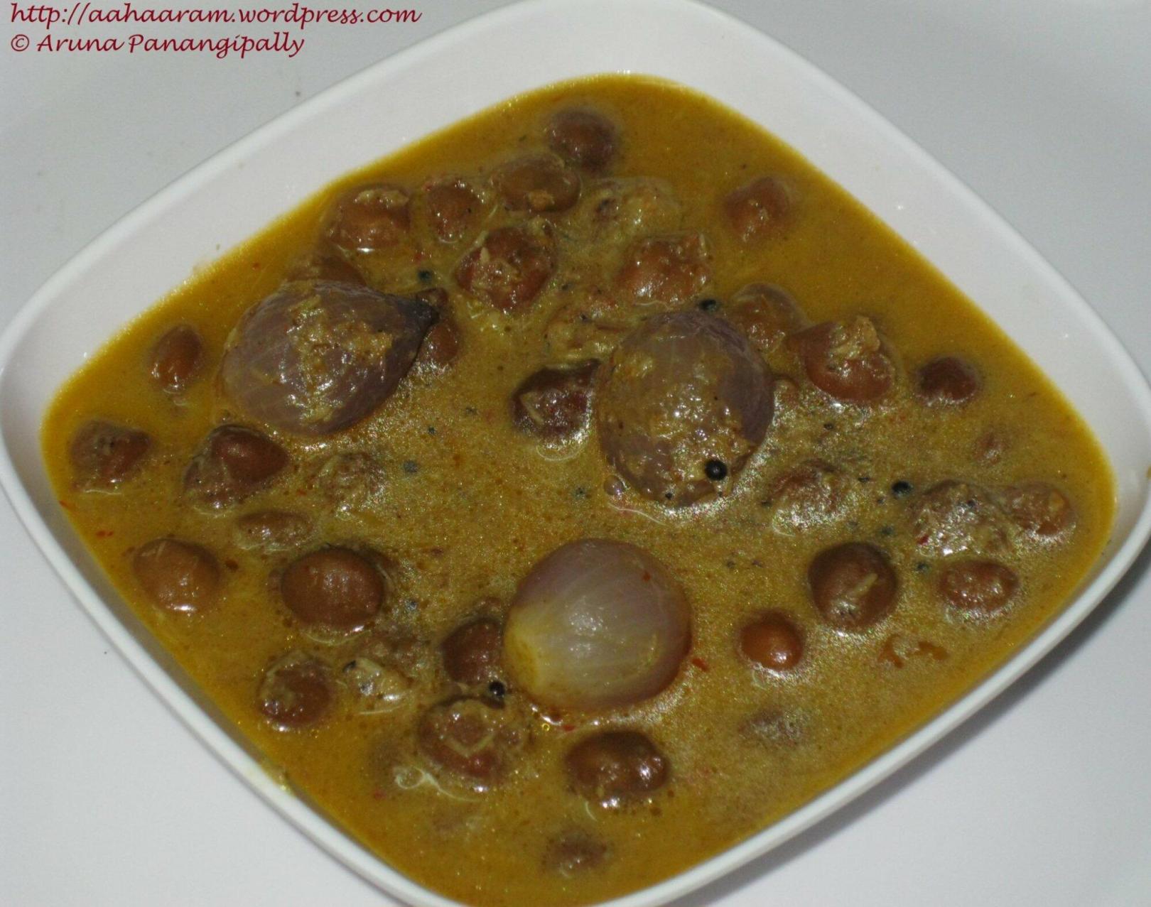 Kadala Curry or Horse Gram Curry