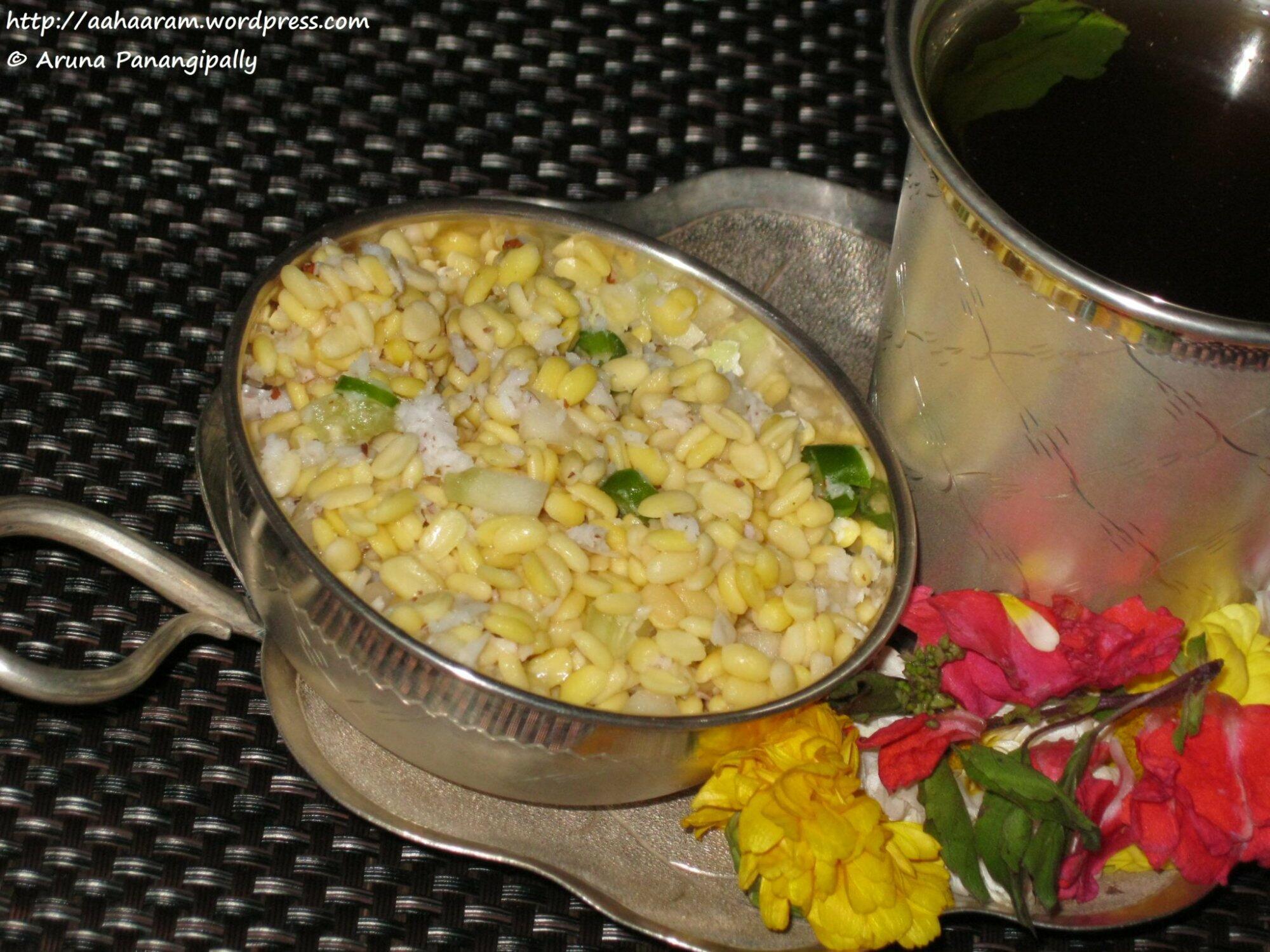 Vada pappu or kosambari rama navami naivedyam hram vada pappu forumfinder Image collections