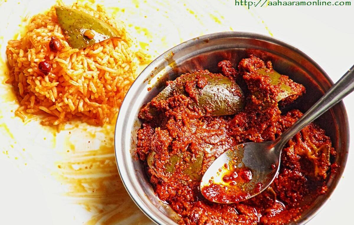 How to Make Avakai or Avakaya - Andhra Raw Mango and Mustard Powder Pickle
