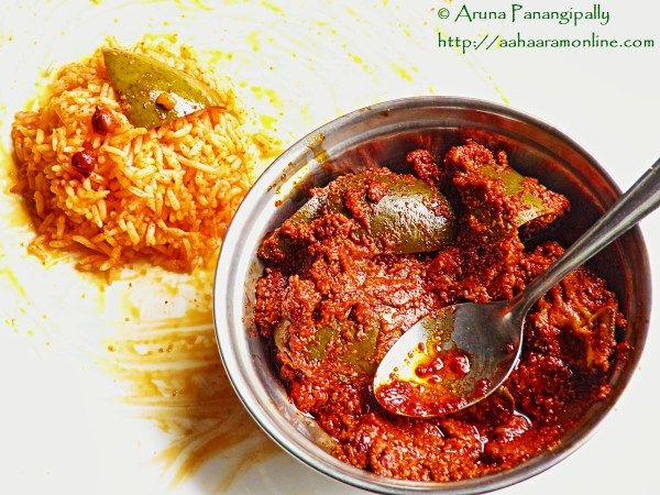 How to Make Avakai or Avakaya - Andhra Raw Mango and Mustard Powder Pickle