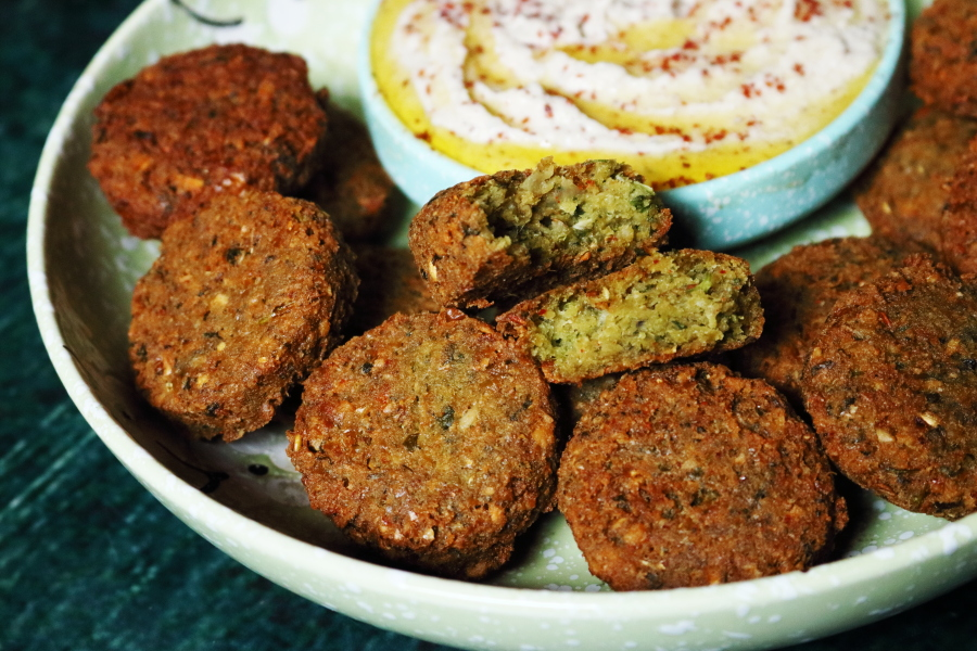 The Perfect Falafel: Crispy Chickpea Fritters from the Middle-East