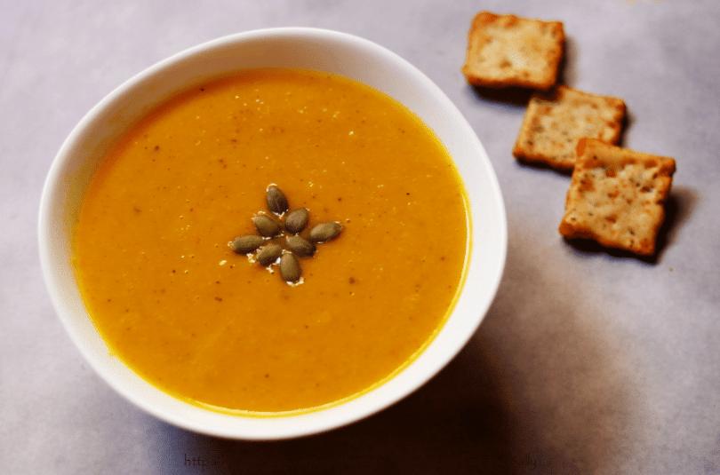 Creamy, Vegan Roasted Pumpkin Soup