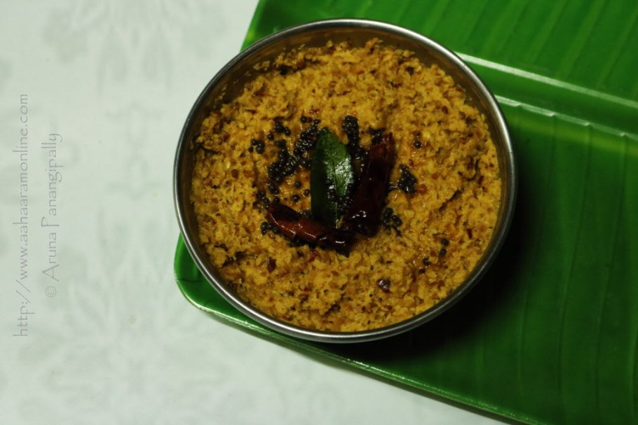 Kobbari Pachadi | Andhra Coconut Chutney for Rice