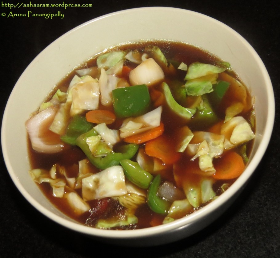 Cantonese Vegetables - Indo-Chinese