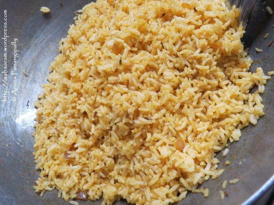 Masala Rice or Masale Bhath