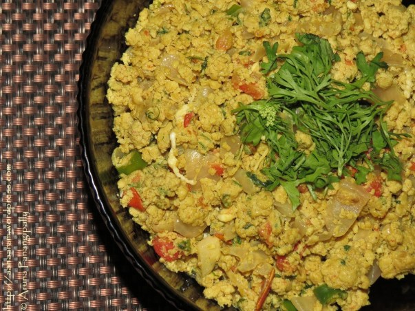 Anda Bhurji - Scrambled Eggs - Mumbai Street Food Style