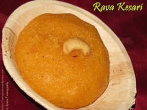Rava Kesari | Saffron Semolina Pudding