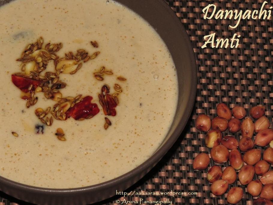Danyachi Amti for Varyache Tandul on Ekadashi