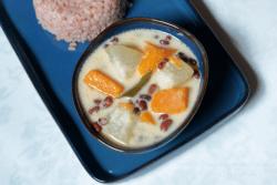 Olan | Ash Gourd, Pumpkin, and Cowpeas in Coconut Milk
