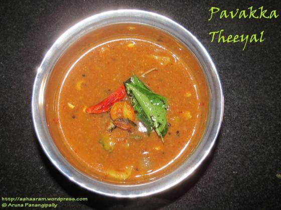 Pavakka Theeyal - Kerala Recipes