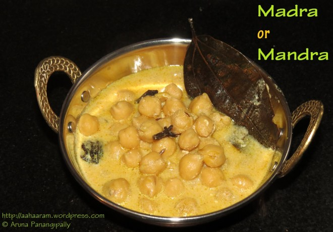 Madra or Mandra - Kangra Dham Recipe - Himachal Pradesh
