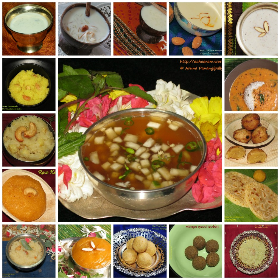A collection of traditional Andhra recipes to celebrate Ugadi, the Telugu New Year