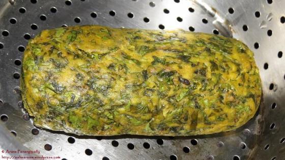 Kothambir Vadi - Steamed