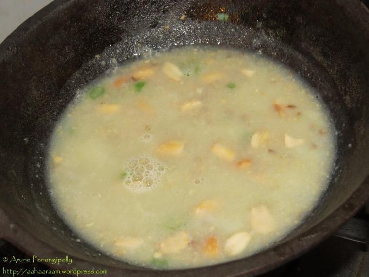 Farali Misal - Vrat ka Khana - Fasting Recipes - Add Water