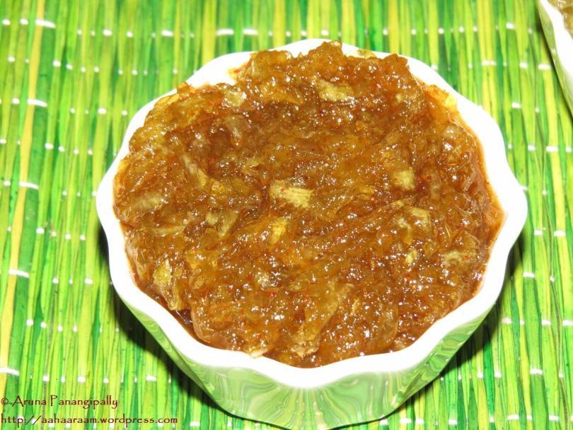 Keri no Chundo   Kairi Chunda (Sweet, Sour, Spicy Mango Jam)