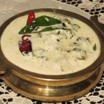 Vendakka Kichadi - Vishu Onam Sadya - Bendakaya Perugu Pachadi