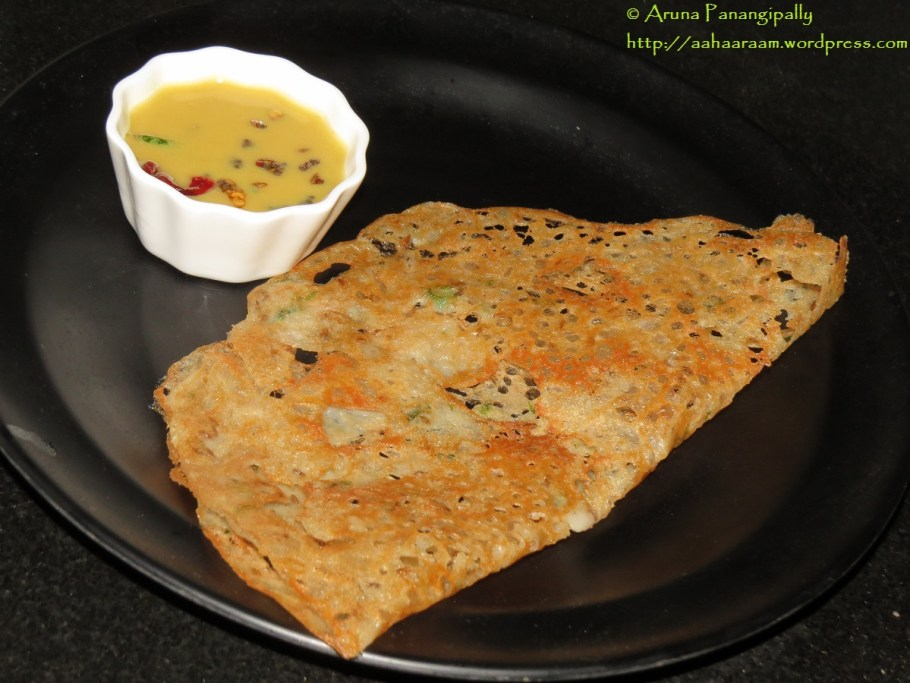 Godhuma Dosa or Wheat Flour Dosa