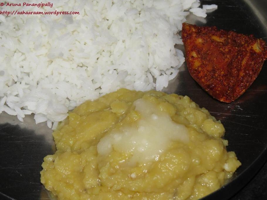 Mudda Pappu | Andhra Style Plain Dal