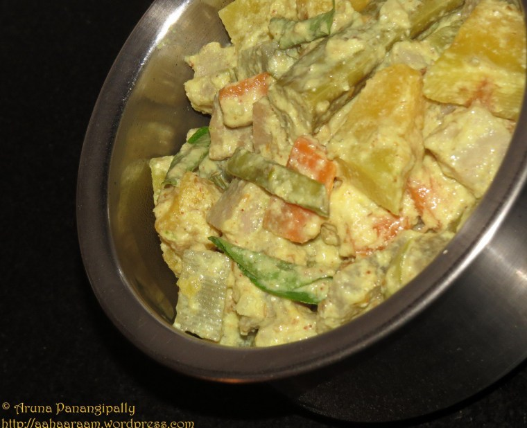 Avial | Aviyal - Mixed Vegetable Stew from Kerala