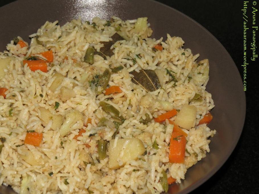 Vegetarian Dindigul Thalapakatti Biryani