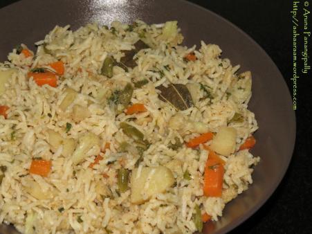 Vegetarian Dindigul Thalapakatti Biryani - 2