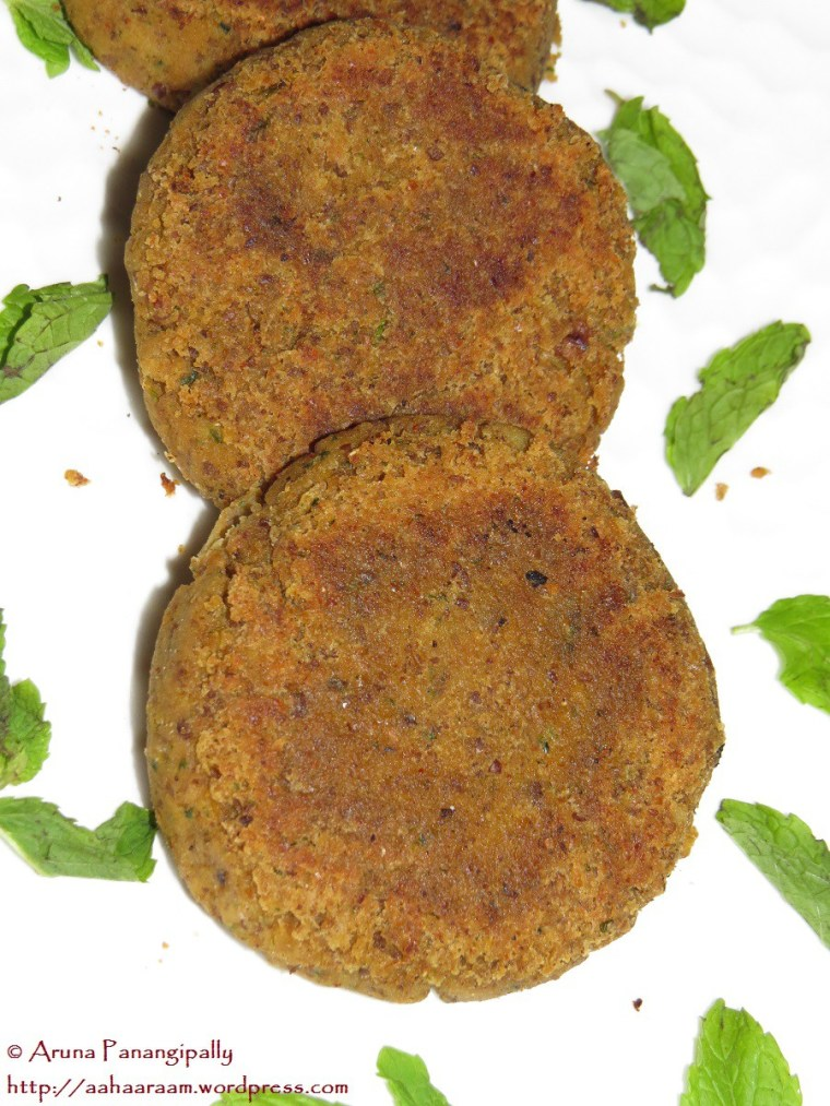 Kale Chane ke Kebab - Recipe