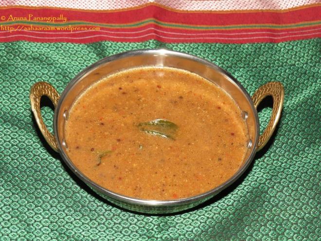 Milagu Kuzhambu - Hot Pepper Gravy